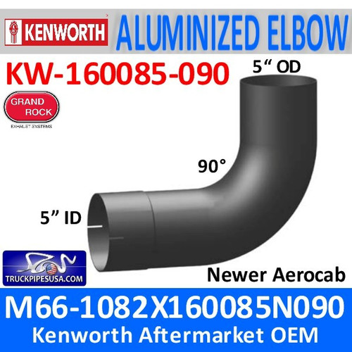 M66-1082x160085N090 Kenworth Exhaust Elbow for Aerocab