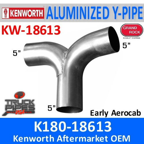 K180-18613 Kenworth Exhaust Y Pipe for Aerocab