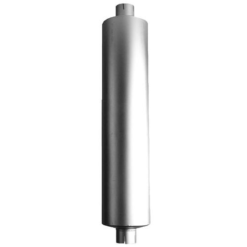 """M110824 Peterbilt 387 Muffler  11"""" Round x 55"""" Body x 61.5"""" Overall"""