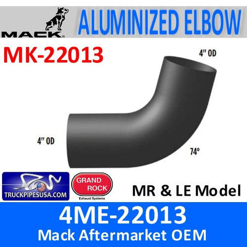 4ME-22013 Mack MR & LE Model Exhaust Elbow MK-22013