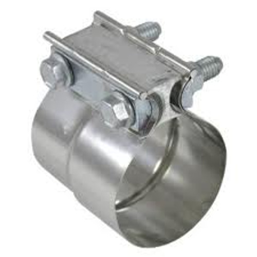 "5"" Preformed Polished Stainless Steel Exhaust Seal Clamp PF-5SSP"