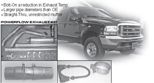"""2003-2005 Ford 6.0 Powerstroke 5"""" Stack Kit"""