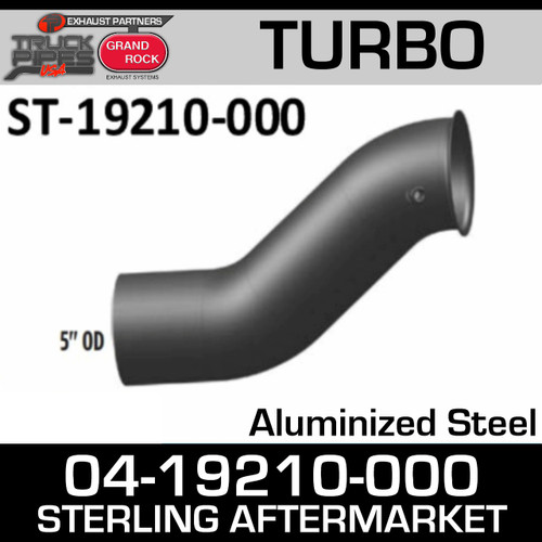 04-19210-000 Sterling Exhaust Turbo Pipe ST-19210-000