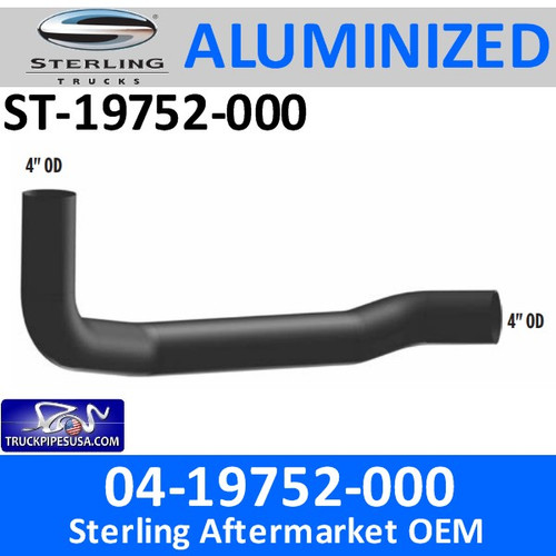 ST-19752-000 04-19752-000 Sterling Exhaust Elbow Pipe ST-19752-000