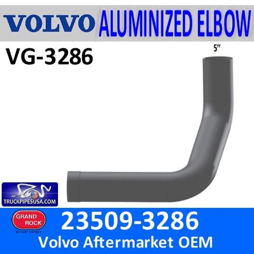 23509-3286 Volvo Exhaust Aluminized Elbow VG-3286