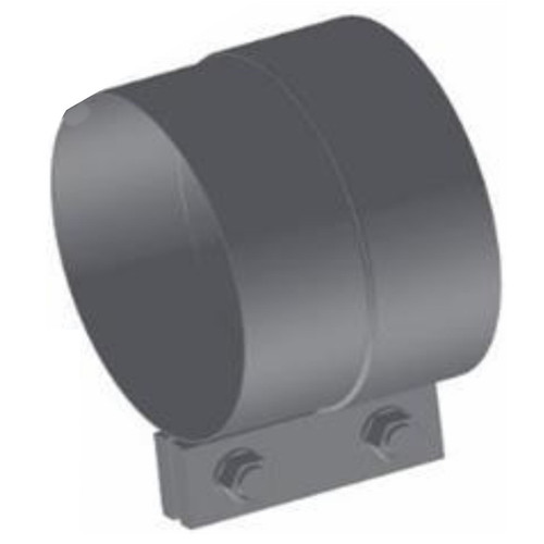 "WFC-4A 4"" Westfalia Aluminized Exhaust Band Clamp"