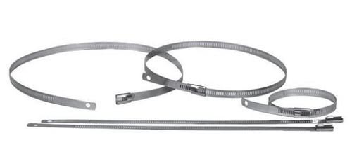 "HC-18SSVP Heat Wrap Clamp 18"" Bulk Pack 12Pc Stainless Steel HC-18SSVP"