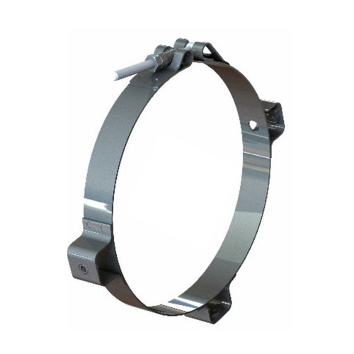 "6"" Zinc Plated Heat Shield Bracket PG-6ZBRKT"
