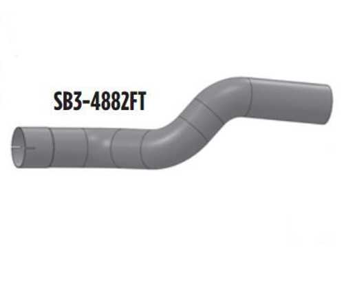 Ford School Bus Exhaust 4 inch Elbow SB3-4882FT B800,FD1060