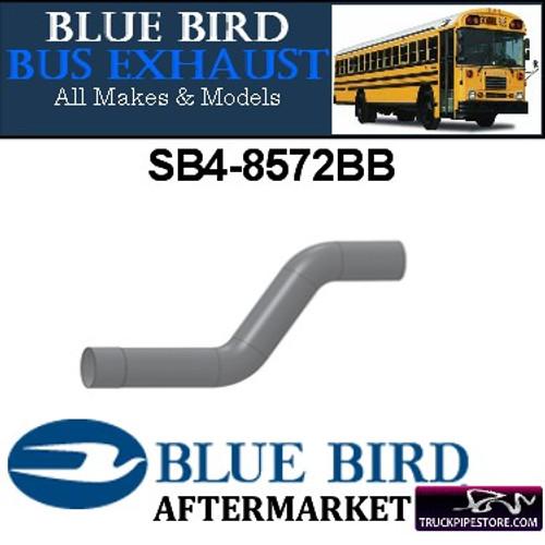"SB4-8572BB 4"" 2 Bend Bluebird Bus Exhaust ID-OD ALZ"