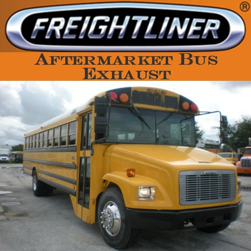"""SB4-0013FL 4"""" Freightliner Bus Exhaust 2 Bend with Miter OD-OD"""