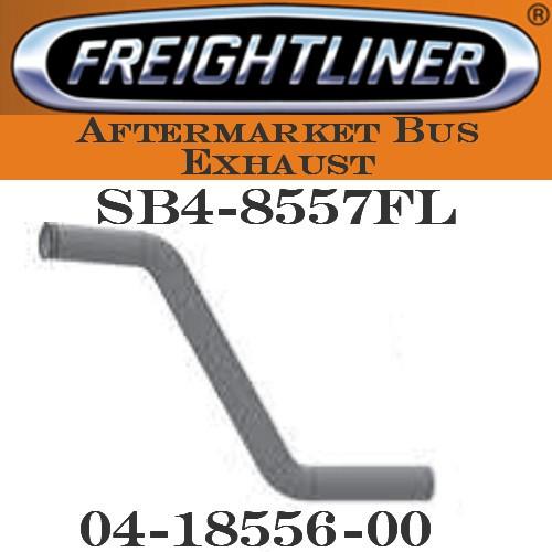 "04-18556-000  3"" Freightliner Bus Exhaust 2 Bend OD/FLARE ALZ SB4-8557 FREIGHTLINER"