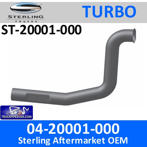 ST-20001-000 04-20001-000 Sterling Exhaust Turbo Pipe ST-20001-000 - SPECIAL ORDER