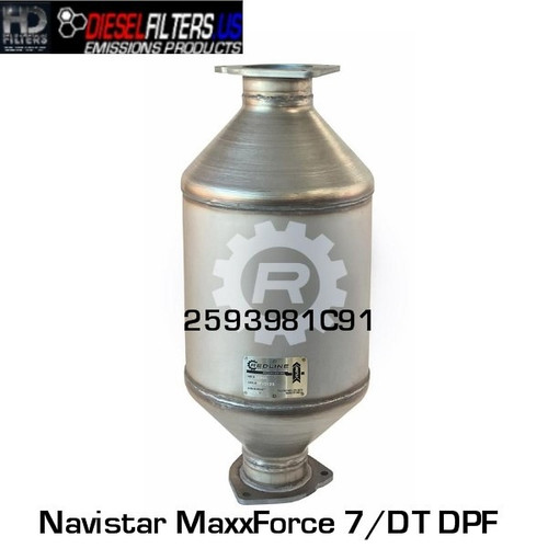 2593981R91 Navistar MaxxForce 7/DT DPF (RED 52960)