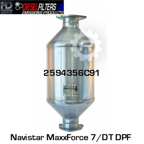2594356C91 Navistar MaxxForce 7/DT DPF (RED 52961)