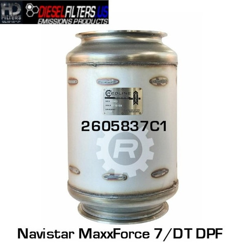 2605837C1 Navistar MaxxForce 7/DT DPF (RED 52982)