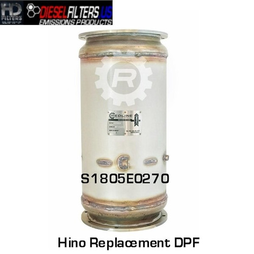 S1805E0270 Hino Replacement DPF (RED 52983)
