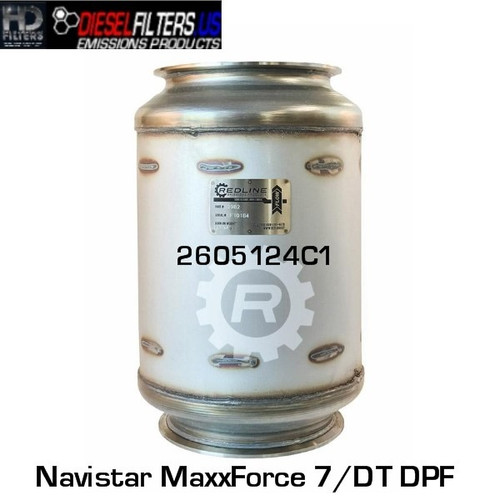 2605124C1 Navistar MaxxForce 7/DT DPF (RED 52982)