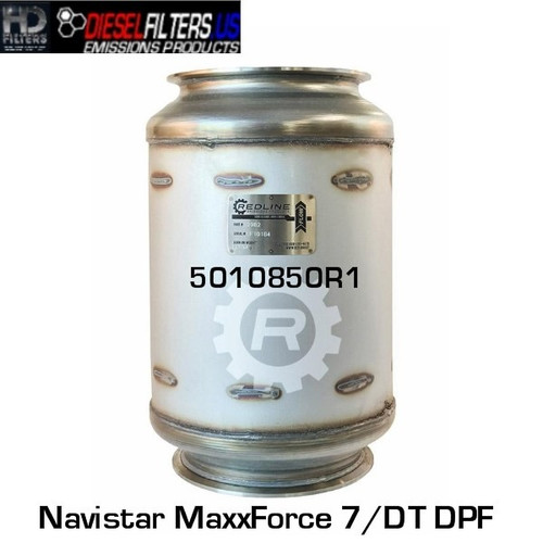 5010850R1 Navistar MaxxForce 7/DT DPF (RED 52982)