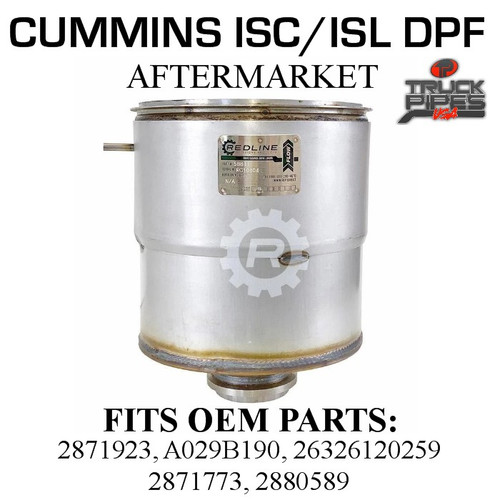 26326120259 Cummins ISC/ISL Diesel Particulate Filter 58811