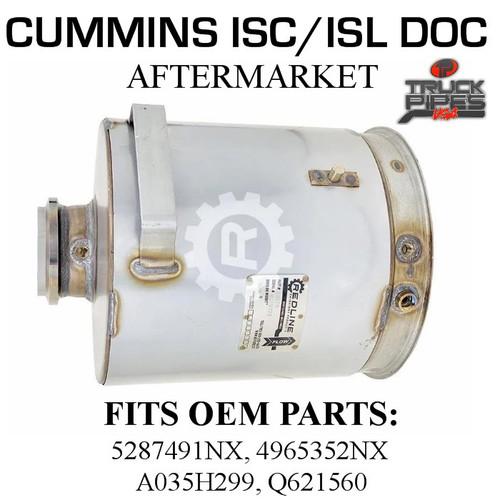 4965352NX Cummins ISC/ISL Diesel Oxidation Catalyst 58816