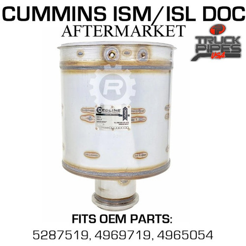 4969719 Cummins ISM/ISL Diesel Oxidation Catalyst 58817