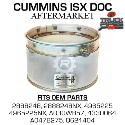 2888248NX Cummins ISX Diesel Oxidation Catalyst 58806