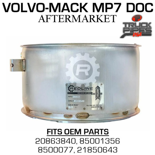 20863840 Volvo-Mack MP7 Diesel Particulate Filter 58808