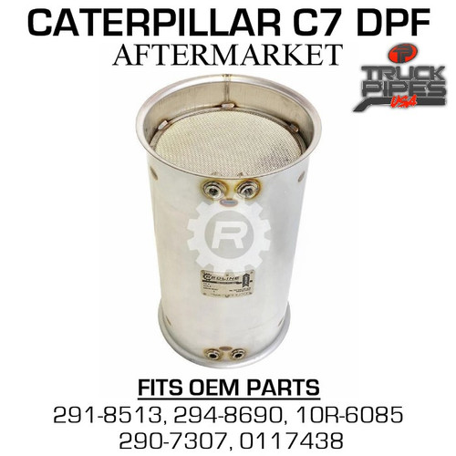 291-8513 Caterpillar C7 Diesel Particulate Filter 53122