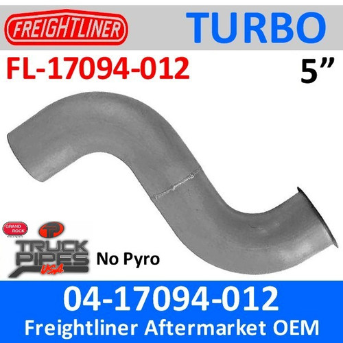 04-17094-012 Freightliner Turbo Exhaust NO Pyro FL-17094-012