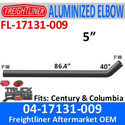 "04-17131-009 Freightliner Century 86.44"" Long Pipe"