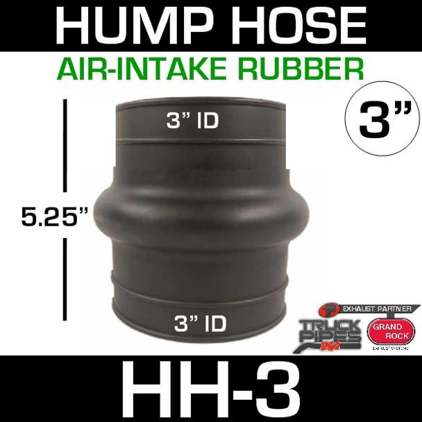 "3"" Air Intake Exhaust Hump Hose HH-3"