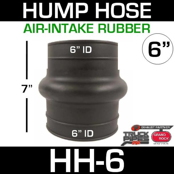 "6"" Air Intake Exhaust Hump Hose HH-6"