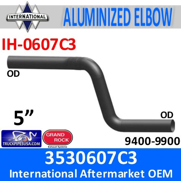 3530607C3 International Exhaust Double Elbow IH-0607C3