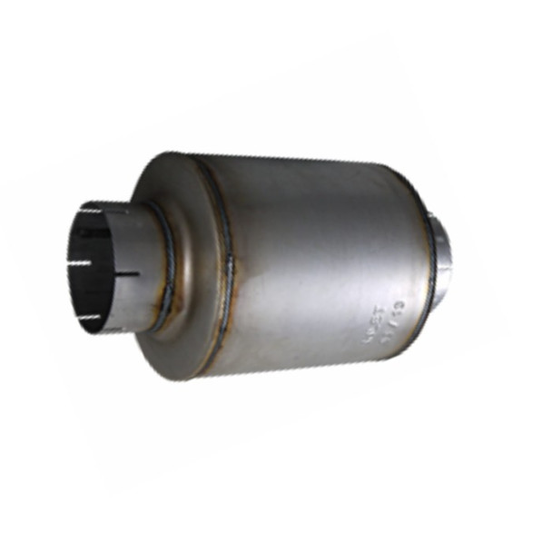 """M-145 Type 1 Resonator 9"""" Round x 10"""" long with 5"""" IN-OUT"""