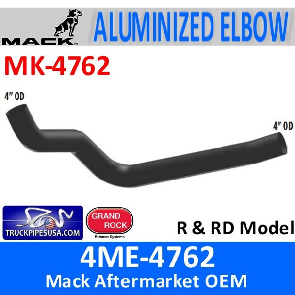 4ME-4762 Mack R & RD Model Exhaust Elbow MK-4762
