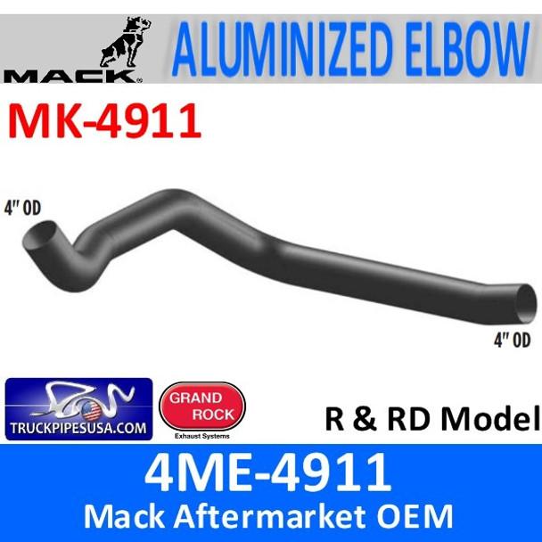 4ME-4911 Mack R & RD Model Exhaust Elbow MK-4911