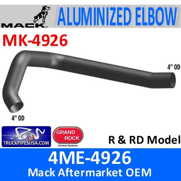 "4ME-4926 Mack R & RD Model 4"" Exhaust Elbow MK-4926"