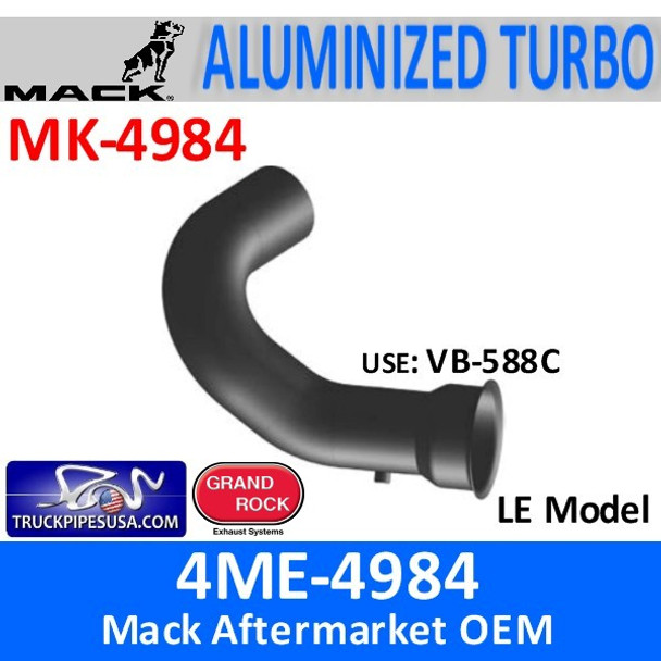 4ME-4984 Mack LE Turbo Exhaust Pipe MK-4984