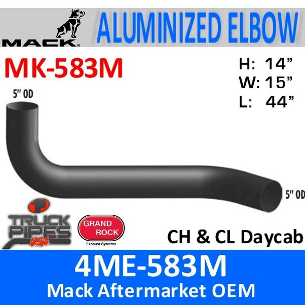 4ME-583M Mack CH & CL Daycab Exhaust Elbow MK-583M