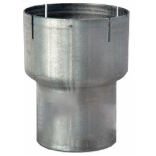 """R4I-35OA 4"""" ID to 3.5"""" OD Exhaust Reducer Aluminized Pipe"""