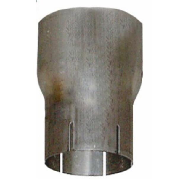 "4"" OD to 3"" ID Exhaust Reducer Aluminized Pipe R4O-3IA"