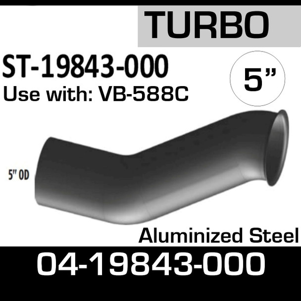 04-19843-000 Sterling Exhaust Turbo Pipe ST-19843-000