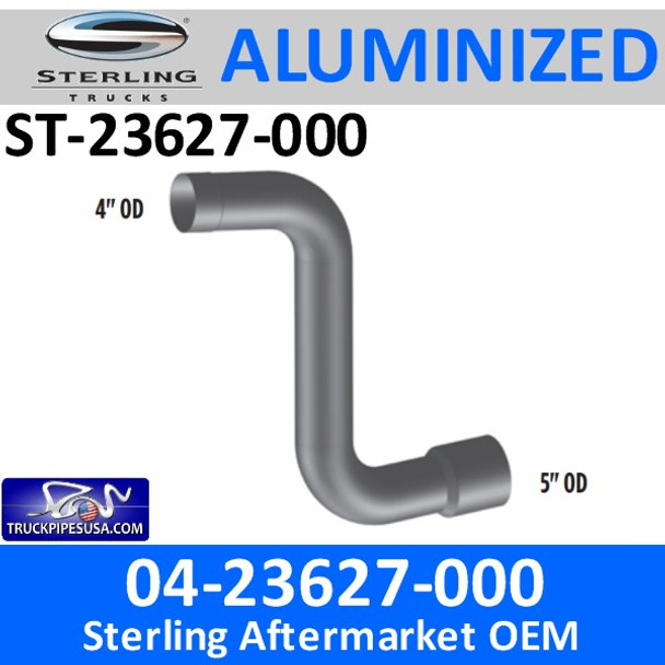 ST-23627-000 04-23627-000 Sterling Car Hauler Elbow Exhaust  Pipe CUSTOM PART