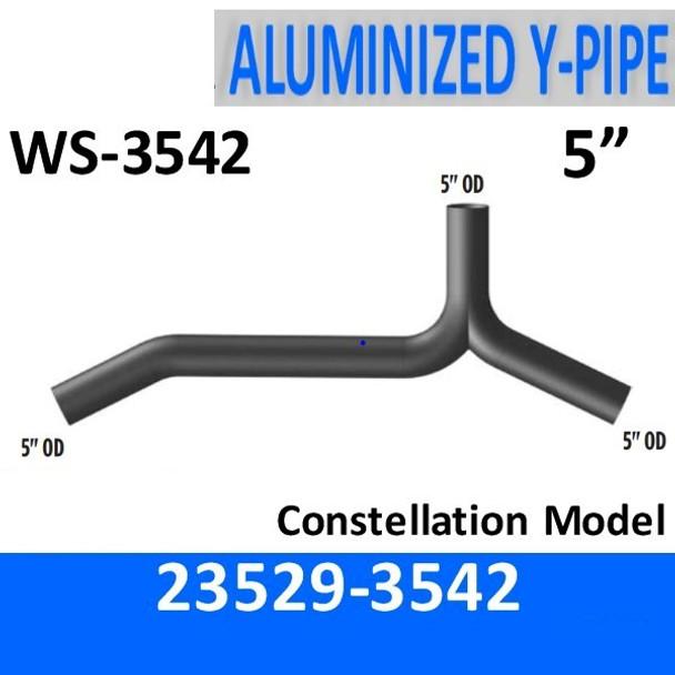 23529-3542 Western Star Constellation Y-Pipe Exhaust