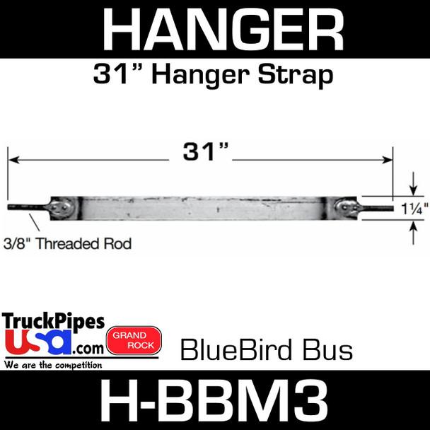 "31"" Muffler Stap for Bluebird/Chevrolet/GMC Diesel H-BBM3"