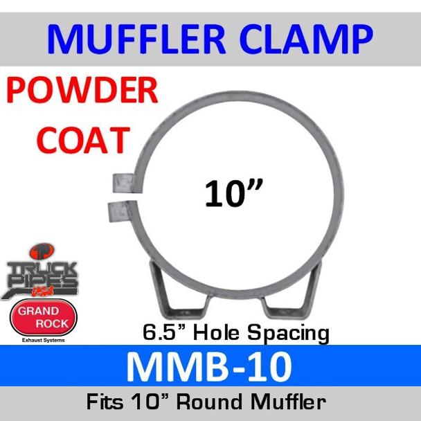 """10"""" Universal Muffler Exhaust Clamp Powder Coat MMB-10"""