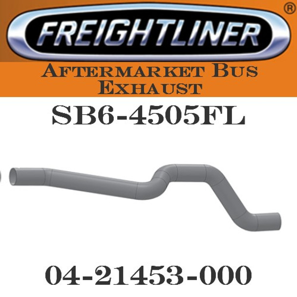 "04-21453-000  4"" Freightliner Bus Exhaust 5 Bend OD-OD ALZ"
