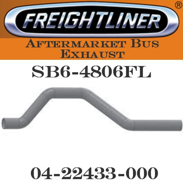 "04-22433-000  4"" Freightliner Bus Exhaust 4 Bend OD-OD ALZ"