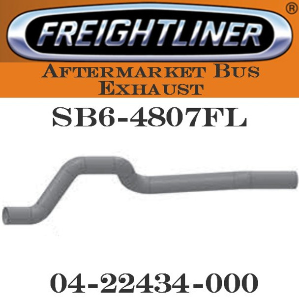 "04-22434-000  4"" Freightliner Bus Exhaust 5 Bend OD-OD ALZ"